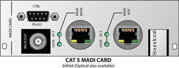 Picture of MADI HD link card for Compact stagebox   Cat 5